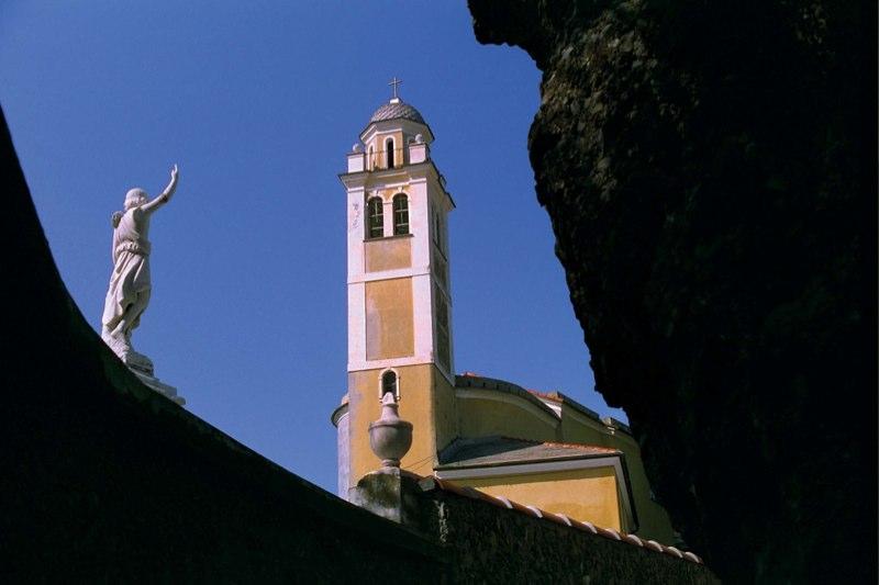 Portofino Church Tower