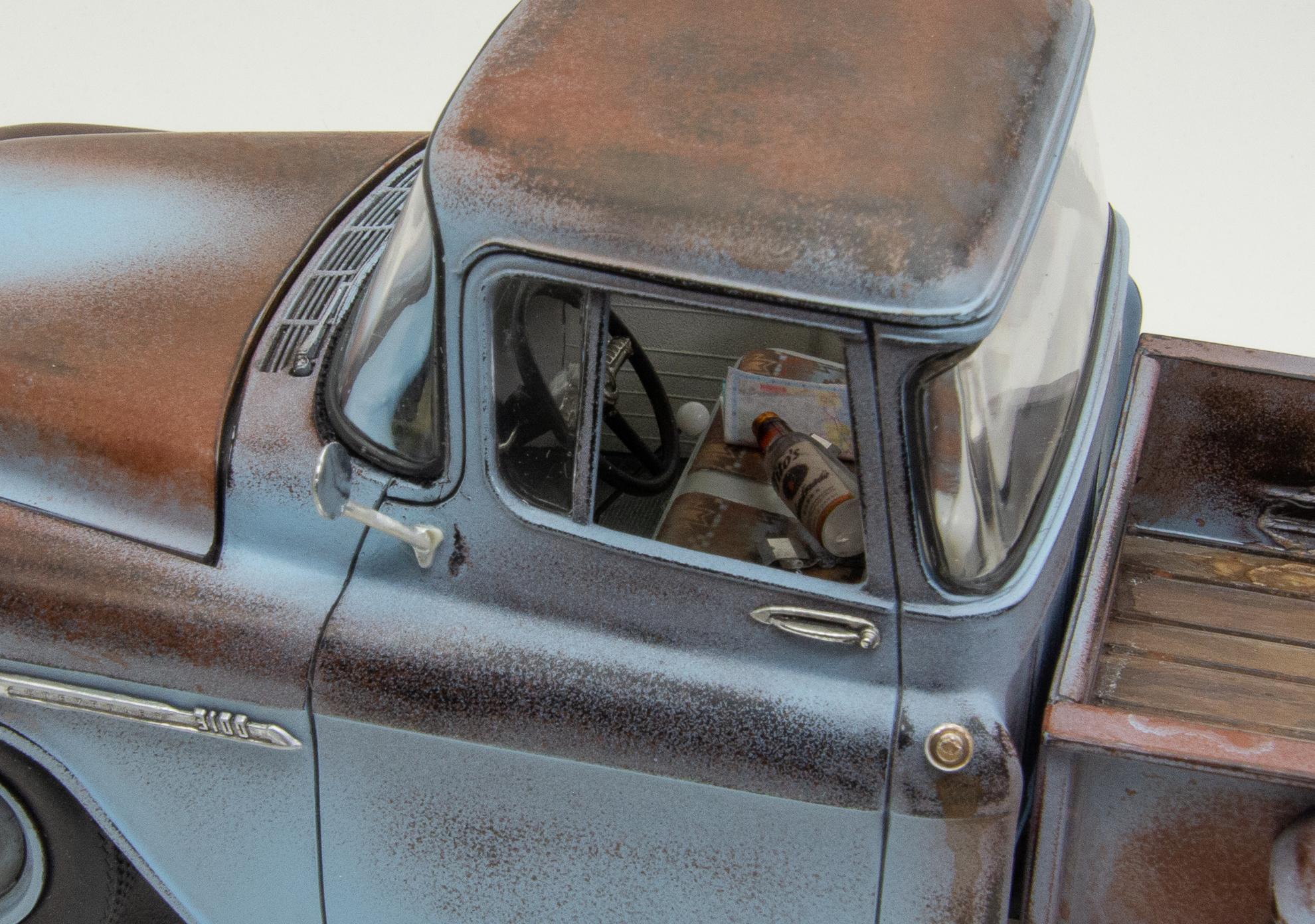 55 Chev Pickup Juana 8