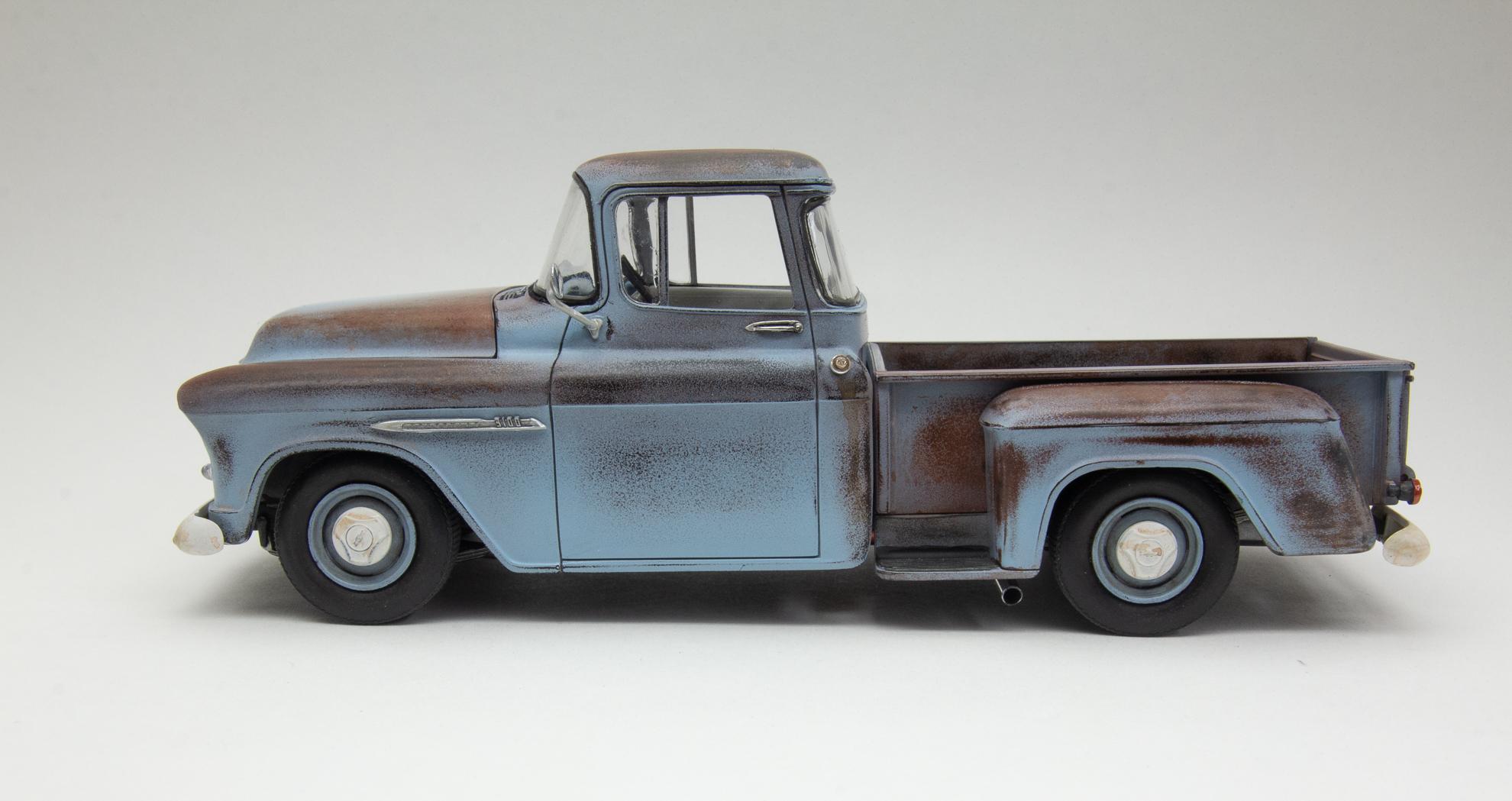 55 Chev Pickup Juana 4