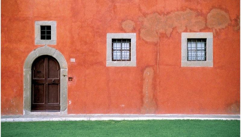 "Pisa Wall (image size 12"" x 7"")"