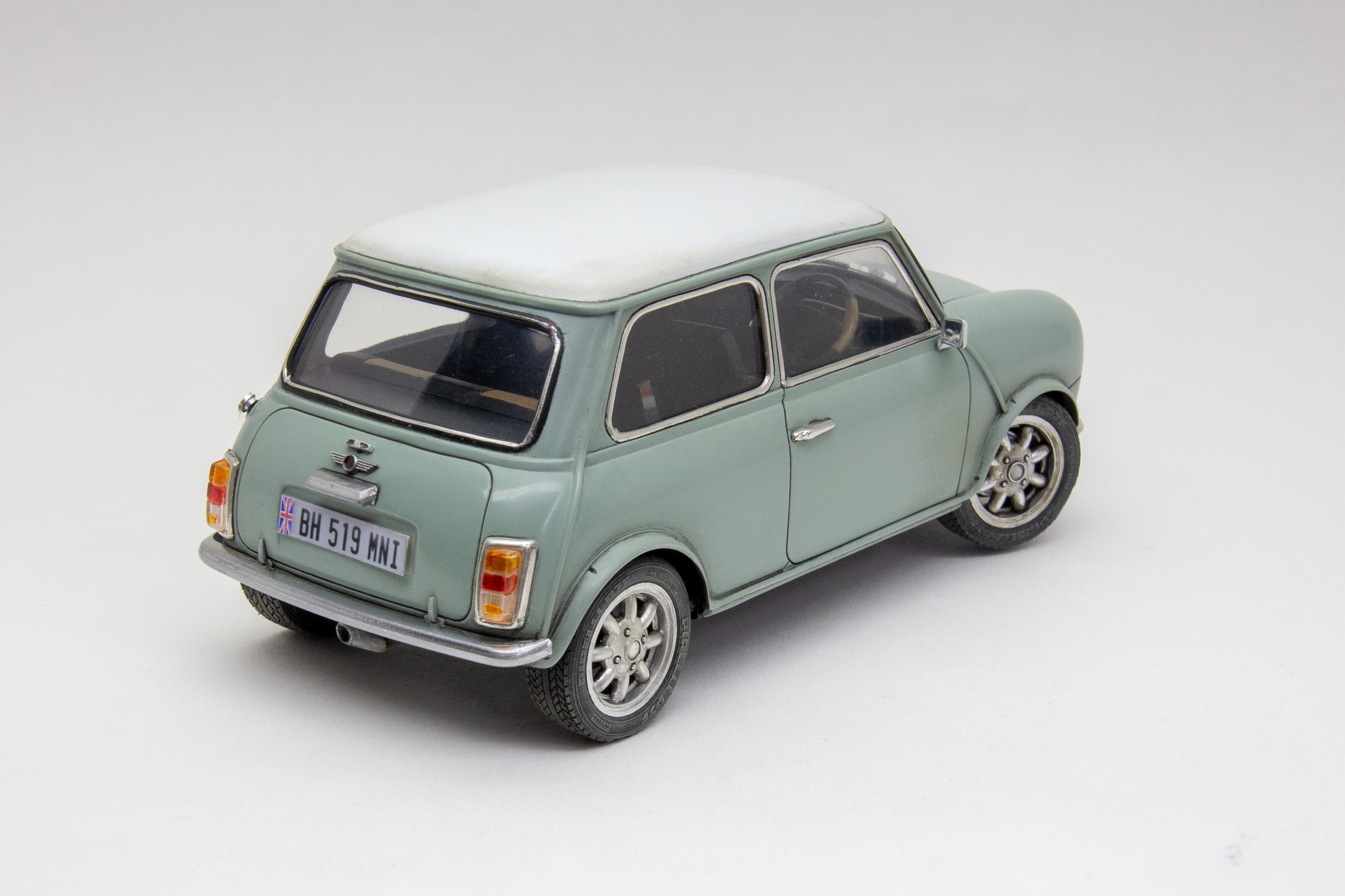 Old Mini Cooper  #8844