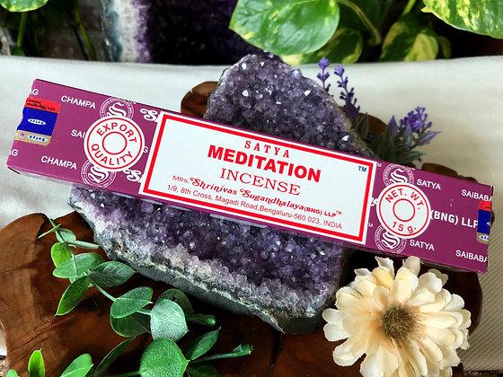 Satya Meditation Incense