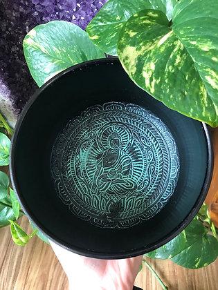 Medium Buddha Singing Bowl (Green)