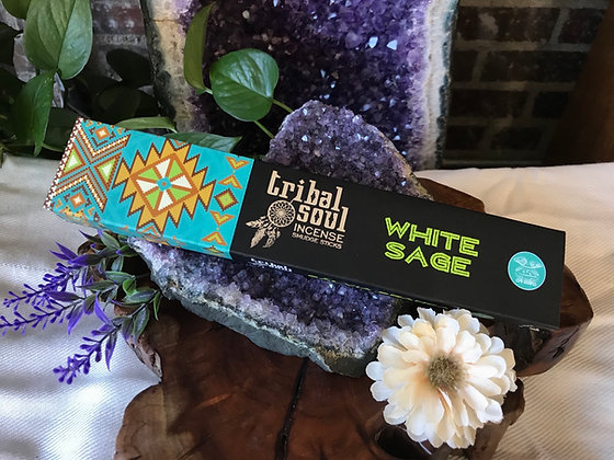 Tribal Soul White Sage Incense Smudge Sticks