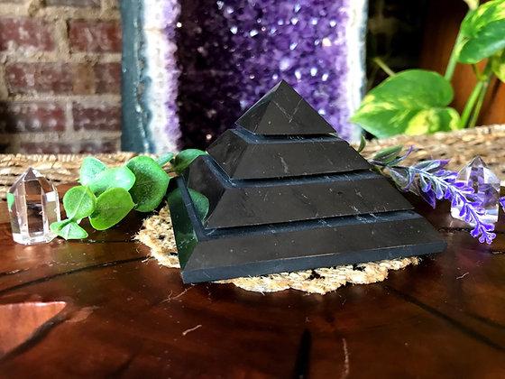 Alien Shungite Pyramid (Medium)