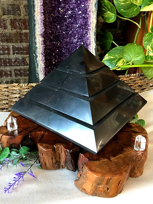 Alien Shungite Pyramid (Extra Large)