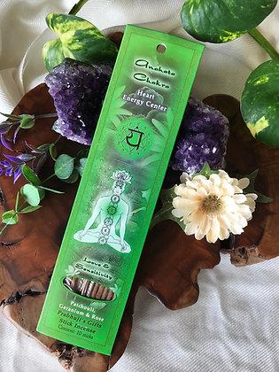 Prabhuji's Gifts Anahata Chakra Stick Incense
