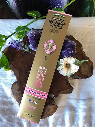 Gonesh Sticks Rose Extra Rich Incense
