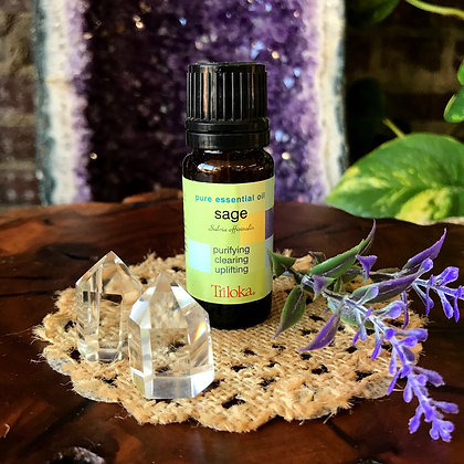 Triloka Sage Pure Essential Oil