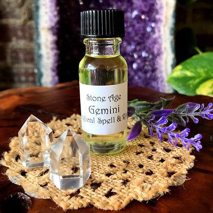 Stone Age Gemini Astrological Spell & Ritual Oil