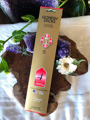 Gonesh Sticks No. 4 Classic Incense