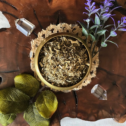 Wormwood Herb (Cut + Sifted)