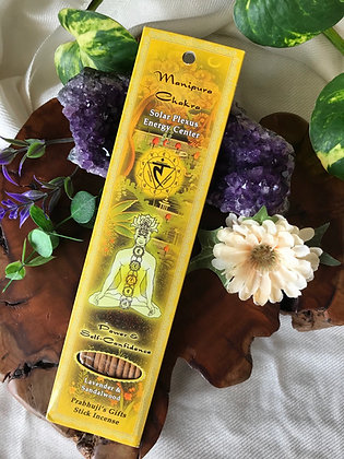 Prabhuji's Gifts Manipura Chakra Stick Incense