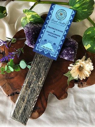 Fred Soll's Frankincense & Sandalwood Incense
