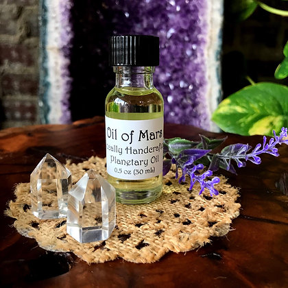 Stone Age Oil of Mars Planetary Spell & Ritual Oil