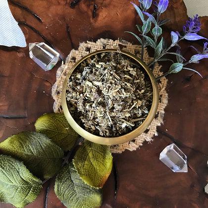 Mugwort Herb (Cut + Sifted)