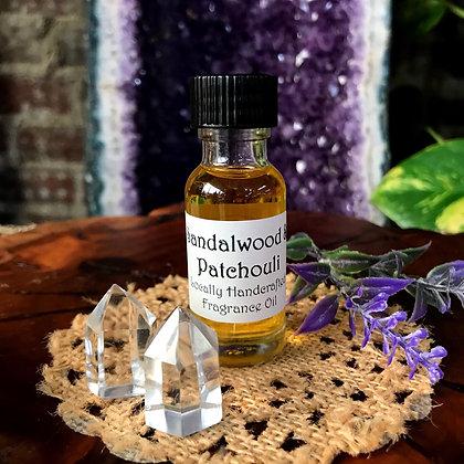 Stone Age Sandalwood & Patchouli Fragrance Oil