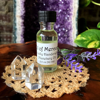 Stone Age Oil of Mercury Planetary Spell & Ritual Oil