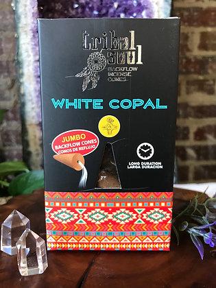 Tribal Soul White Copal Backflow Incene Cones