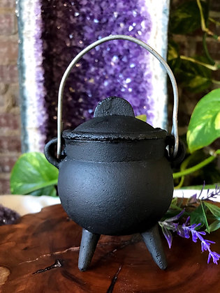Cast Iron Cauldron (Small)