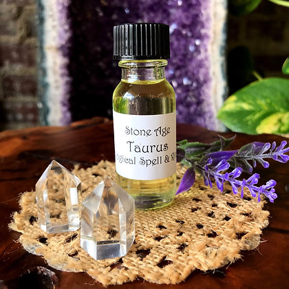 Stone Age Taurus Astrological Spell & Ritual Oil