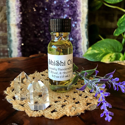 Stone Age ShiShi Oil Spell, Ritual, & Anointing