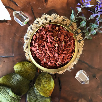 Red Sandalwood (Wildcrafted, Cut +Sifted)