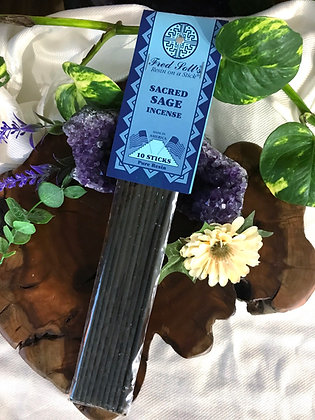 Fred Soll's Sacred Sage Incense