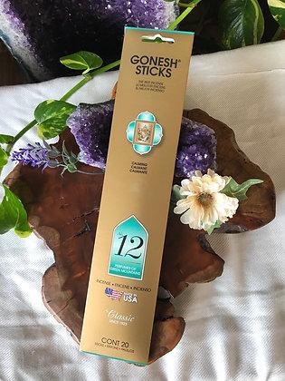 Gonesh Sticks No. 12 Classic Incense