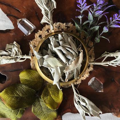 White Sage Leaf (Whole)