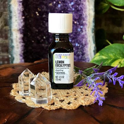 Aura Cacia Lemon Eucalyptus Pure Essential Oil