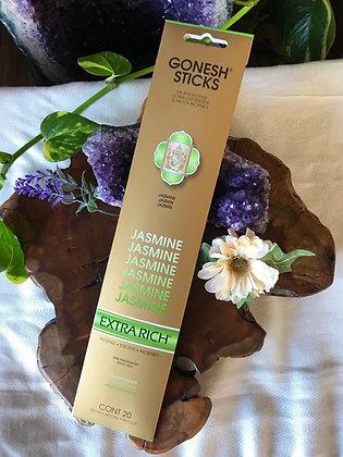 Gonesh Sticks Jasmine Extra Rich Incense