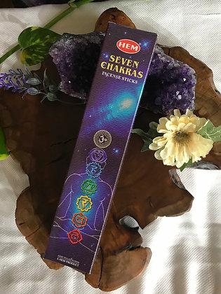 Hem® Seven Chakras Incense Sticks