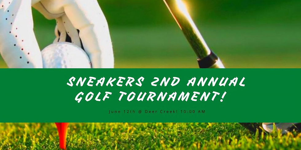 Sneakers 2nd Annual Golf Tournament