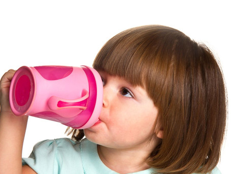 Sippy Cups and Your Child's Teeth