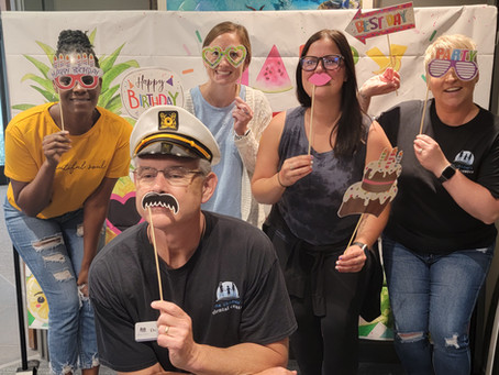 Celebrating The First Birthday At The Children's Dental Center In Coralville