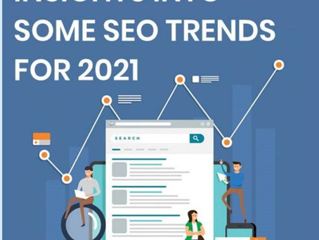 INSIGHTS INTO SOME SEO TRENDS FOR 2021