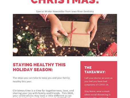 Holiday Newsletter 2020