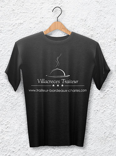 Tee-shirt-traiteur