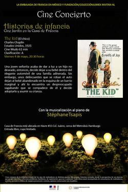 Ciné concert The kid Mexico tour