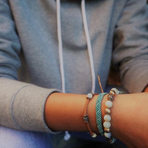 Amazonite Bracelet Set of 3