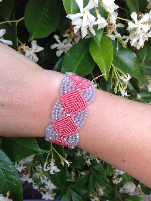 Goddess Bracelet - Coral