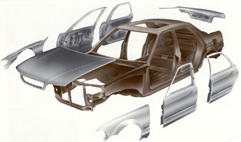 OEM Import Body Panels