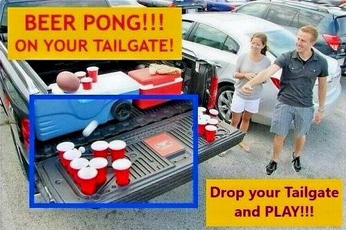 BEER PONG Game! - 2015-20 Ford F150 Beer Pong Table