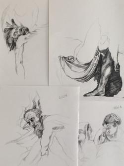 Morning drawings