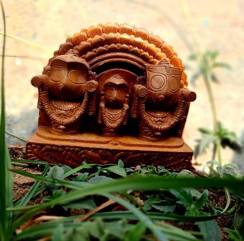 Haastika Lord Jagannath, Balabhadra and Subhadra
