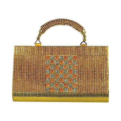 Haastika Clutch Bag Mirror Work Traditional Designer Bag Collection for Women