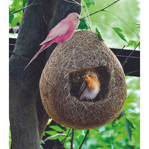 Haastika Coir Craft Bird Nest for Cage, Balcony and Garden