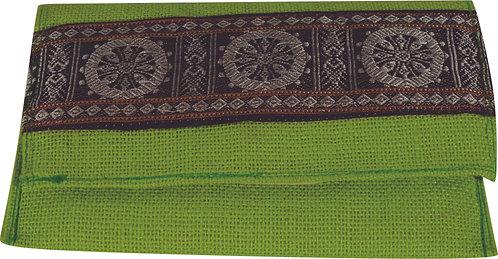 Haastika Handmade Green Colour Jute Clutches