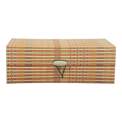Haastika Handmade Wooden Jewellery Box/Jewellery Organizer Box - Multi Color/M
